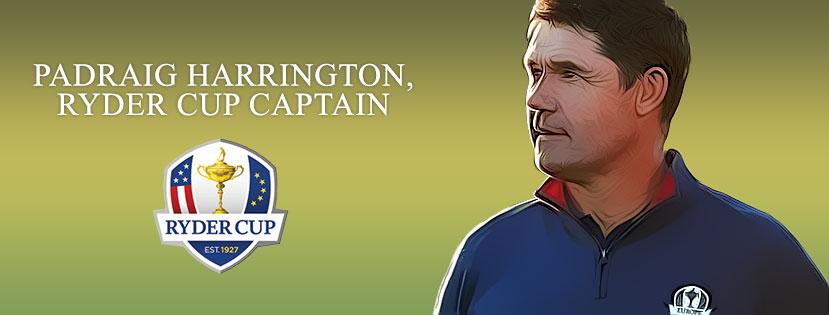 Ryder Cup Captain Padraig Harrington